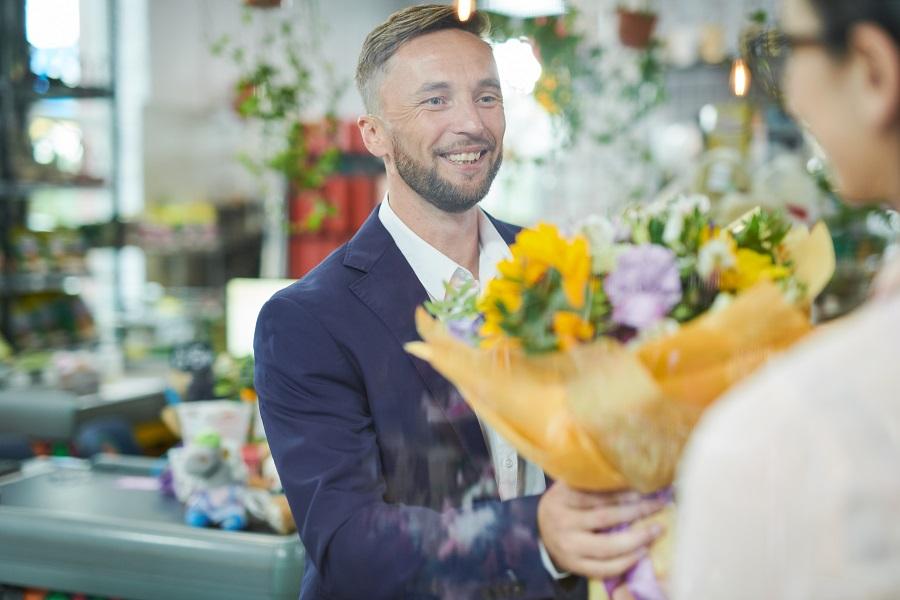 Consegna fiori a domicilio, il servizio che ti garantisce fiori di qualità