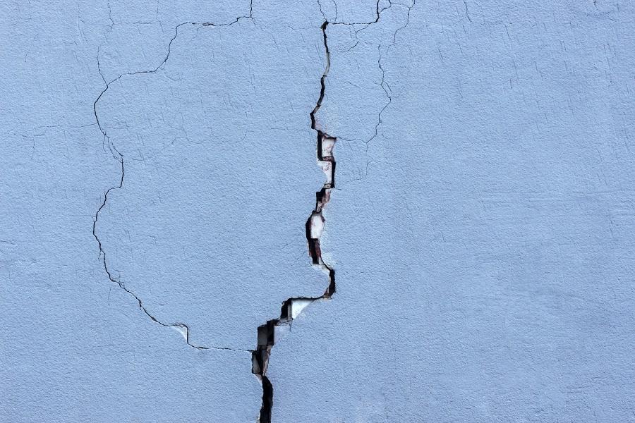 Crepe nei muri: quando si formano e come si possono risolvere
